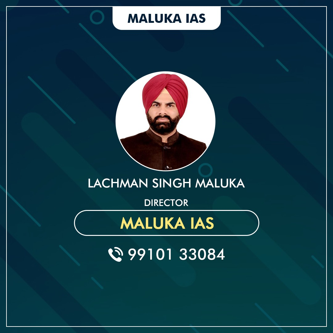 learn from MALUKA IAS